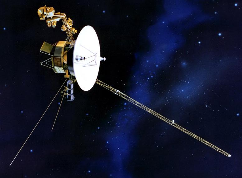 Voyager 1 Earths Farthest Spacecraft  Spacecom NASA